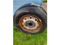 continental van tyre new