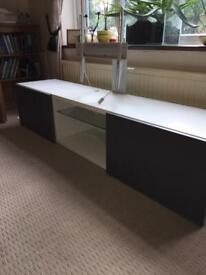 Ikea tv cabinet with swivel tv bracket designed for this stand