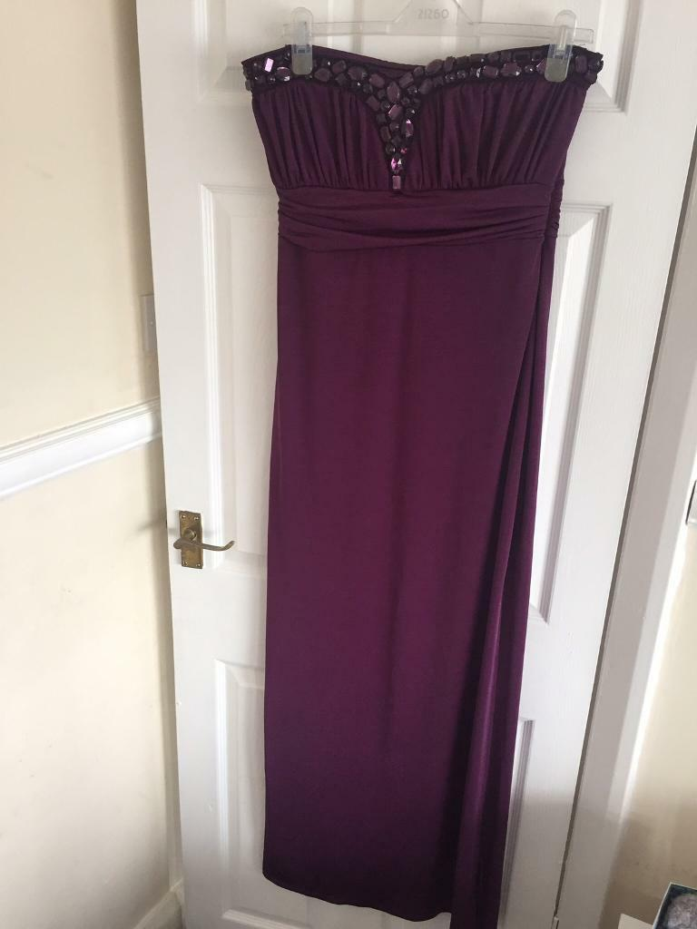 Purple Lipsy Dress Size 14in Cheadle, ManchesterGumtree - Lipsy Dress Size 14 Purple Dress with jewelsWorn Once excellent condition£30