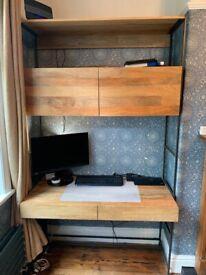 West Elm storage desk