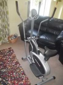 2 in 1 Elliptical trainer & Exercise bike