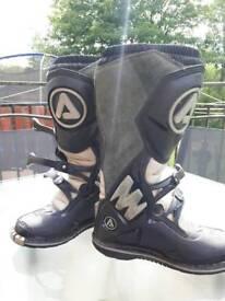 Acerbis motocross boots size UK 6