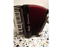 Accordion Paolo Soprani Profesionale IV 120 bass
