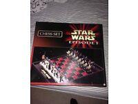 Star Wars episode 1 Chess Set