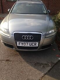 METALLIC GREY AUDI A6 ESTATE FOR SALE