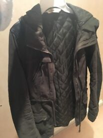 Ladies Hollister Parka Jacket
