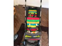Cosatto duet lite double buggy