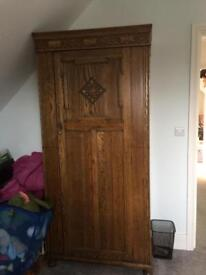Oak wardrobe - GONE