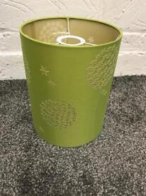 Green lamp shade