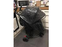 I-safe visual 3 wheel pushchair.