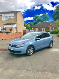 VW GOLF 1.4 TSI SE LOW MILES **77K** 2009 SKY BLUE CHEAPEST ON THE NET CLEAN CAR!!!!