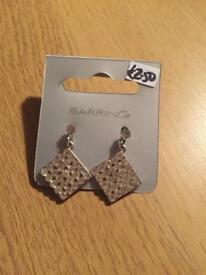 Diamonte earrings