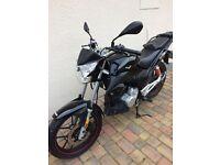 Lexmoto ZXS 125 motor bike