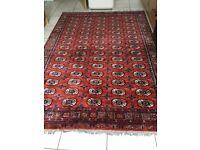 Silk oriental rug 270x190