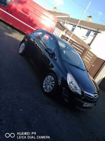 Vauxhall Corsa Excite 2011 , Very Low Mileage, Full MOT, Full Service History, 1 owner from new