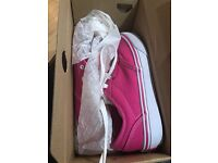 Girls Pink Vans size 2