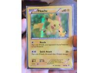 Rare 20th Anniversary Pikachu Trading Card