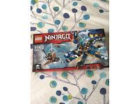 Lego ninjago (blue dragon)