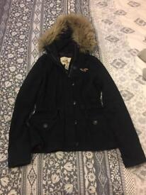 ladies hollister coat size medium