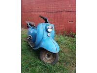 Scooter 1964 Triumph tigress 250cc four stroke twin