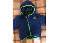North face reversible jacket 6-9 months