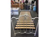 Reproduction Cream Victorian Style Single Bed