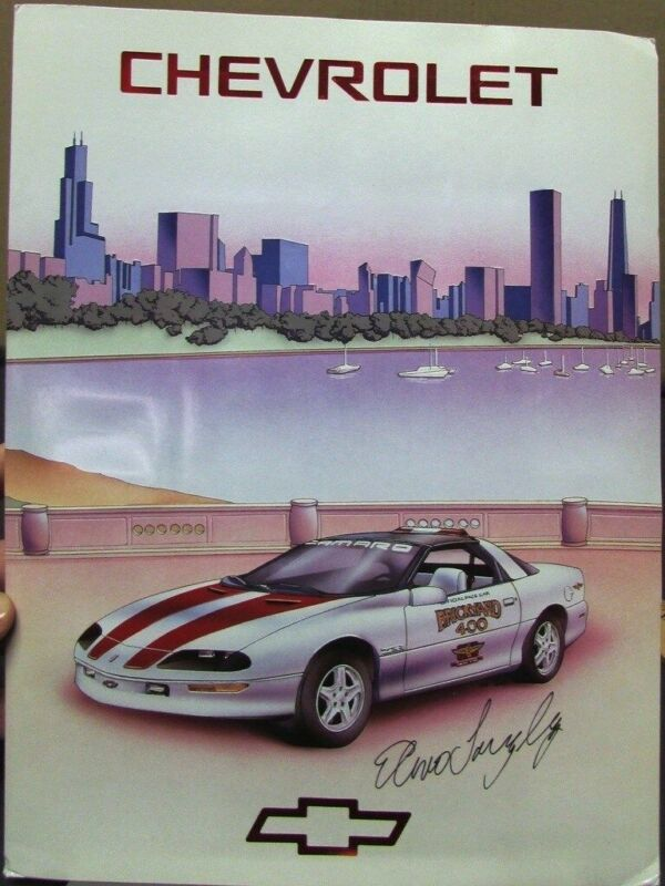 1996 Chevrolet Camaro Z28 Indy Brickyard 400 Elmo Langley Pace Car Press Kit