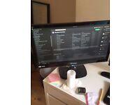 24 Inch ViewSonic LED 1080p FULL HD Computer PC Monitor