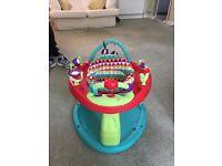 Baby Sit in Twist Activity Gym