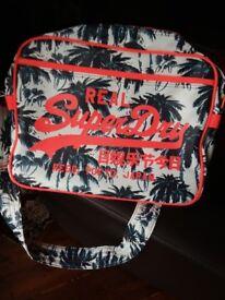 Superdry shoulder bag, virtuallly unused