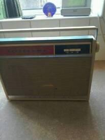 Bush vintage transistor radio