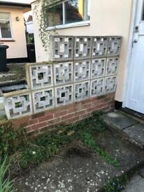 Free garden wall blocks 18 x
