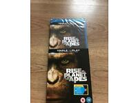 Blu Ray - Rise of The Planet of The Apes