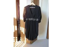 Ted Baker Black Dress Size 3 (UK Size 12)
