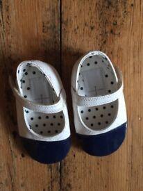 Jasper Conran baby shoes