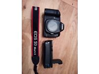 Canon eos 5d mk2 with grip