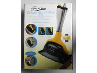 HomeTek Light N Easy Deluxe Multi-Mop 1550w Steam Floor, Carpet, Hardwood, Tiled Floor Cleaner