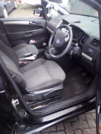 Zafira 08 plate petrol 7 seater