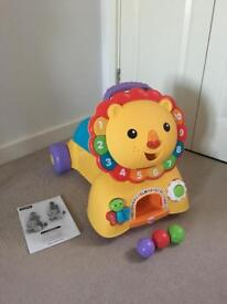 Fisher Price Sit, Stride and Ride Lion - Immaculate