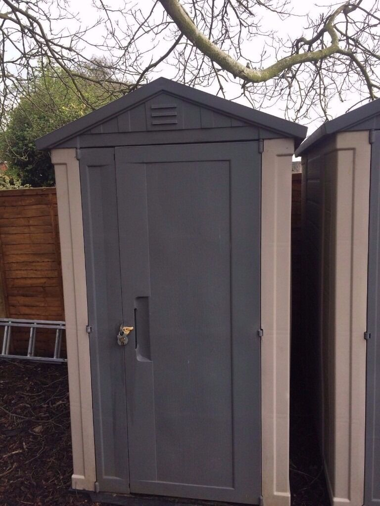 keter apex 6 x 4 garden plastic shed one shed left shed where there