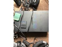 Sony PS2 console with controls