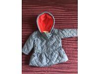 6-9 month Girls Coat