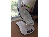 Mamaroo 4moms infant seat with 6 months of warranty left £150