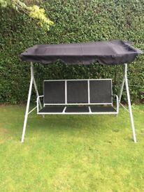 3 seater Kingfisher Deluxe Swinging Chair & Canopy