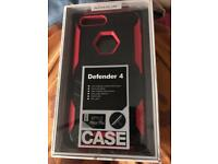 Defender case fr iphone 7 plus and 8 plus