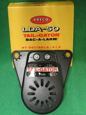 Presco Lda-50 Safety Warning Signal Back-up Alarm Tail-gator 97 Decibels 12v Usa