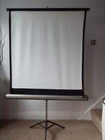 For sale - tripod projector screen