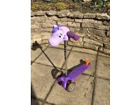 Mini Micro Scooter with scootahead Pony