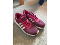 Woman's Adidas Running Trainers - Size 5
