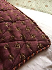 Bed quilt/cover - king size